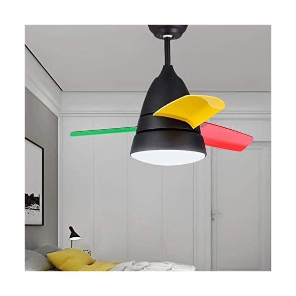 Restaurante-Dormitorio-con-ventilador-de-techo-Luz-Ventilador-de-luz-Habitacin-para-nios-Ventilador-de-techo-pequeo-Saln-minimalista-moderno-Ventilador-elctrico-Luz-2636-pulgadas-Luz-variable-Garanta-