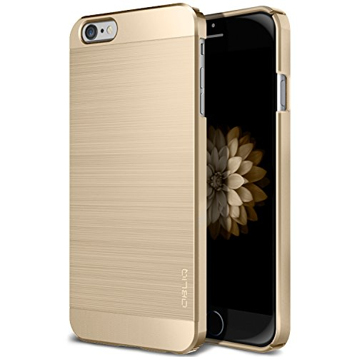 Obliq iPhone 6,iPhone 6S Case, [Slim Meta] Premium Slim Fit Thin All-Around Shock Resistant Polycarbonate Metallic Finish Case for Apple iPhone 6S (2015) & iPhone 6 (2014) (Champagner Gold)