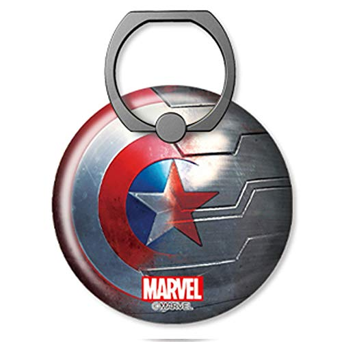 Marvel Avengers Captain Shield Big Smart Ring-Ständer für Smartphone, Shield ELEC