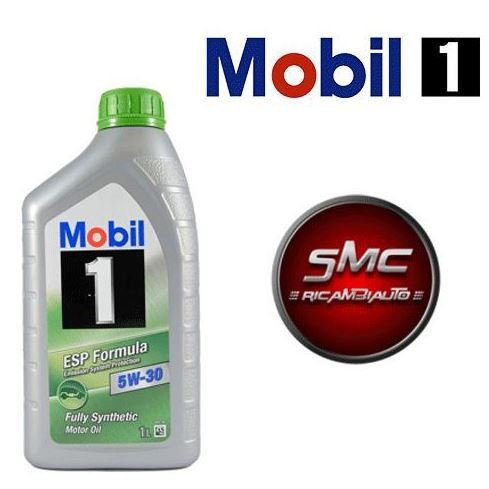 7 Litri Olio Motore Auto Mobil 1 ESP 5W30 7 LT TECHNOLOGIA LONGLIFE
