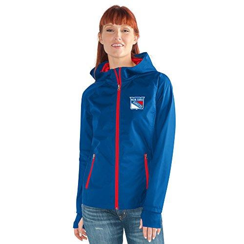 GIII For Her NHL Damen Stand ermöglicht Kick Light Gewicht Full Zip Jacket, Damen, Onside Kick Light Weight Full Zip Jacket, königsblau, Medium Womens Primary Zip Hoody
