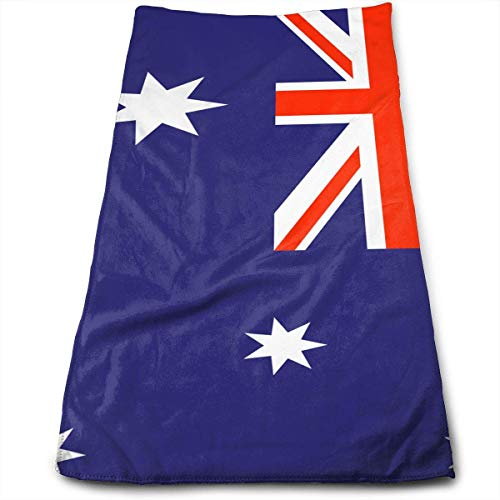 ewtretr Asciugamani Viso-Mani,Australian Flag.JPG Microfiber Beach Towel Large & Oversized - 11.8'X27.5' Towels, Best for Outdoor, Sports, Travels, Quick Drying And Super Absorbent Technology
