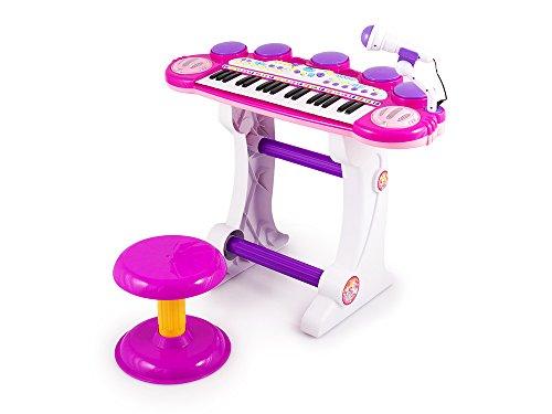Kinderplay KP5728PIN - Klavier Musikinstrument Kinderpiano, pink