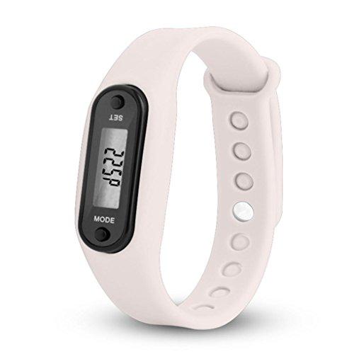 erthome Smartwatch Fitness Aktivität Herzfrequenz-Tracker Blutdruckuhr (HZ-69 Schrittzähler Weiß) -