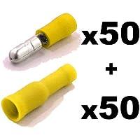 Auto Electrics - Set di 100 (50 maschi + 50
