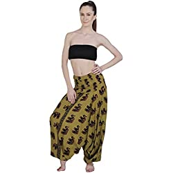 Aakriti Gallery Harem Pants Elephant Indian Alibaba Dance Trouser Yoga Pant Hippie Boho Women Wear Beach Party Jumpsuit