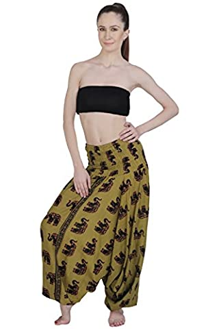 Harem Pants Elephant Indian Alibaba Dance Trouser Yoga pant Hippie Boho Women Wear Beach Party Jumpsuit Aakriti Gallery