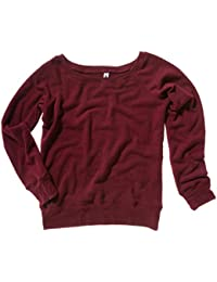 Bella Canvas Triblend Slouchy Wideneck Sweatshirt