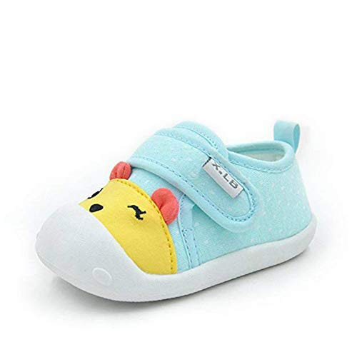 Unisex Baby Boys Girls First Walkers Cute Cartoon Sneaker Toddler Basic Shoes Infant Trainer Anti-Slip Prewalkers Shoes