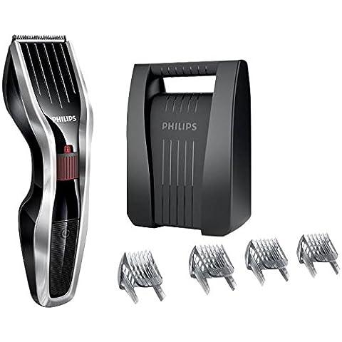 Philips HAIRCLIPPER Series 5000 HC5440/83 cortadora de pelo y maquinilla - Afeitadora (Acero inoxidable, Negro, Plata, Níquel-metal hidruro (NiMH), Barba)
