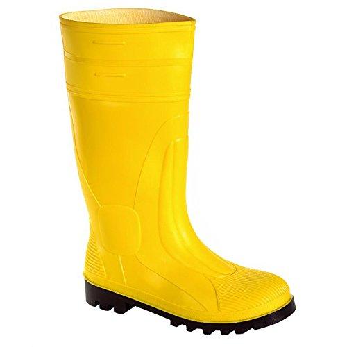 Preisvergleich Produktbild teXXor 6510–38pvc-safety Stiefel S5, Größe 5, gelb