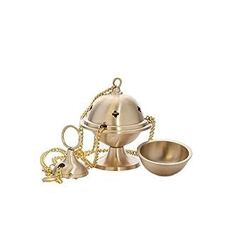 NKlaus Anzmann with Chain Handmade Decorative Gold New Burner 1545