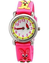1511905422a ARROYO Children Time Teacher Kids Girls Boys Sports 3D Ball Rubber Strip  Analog Watches Birthday Xmas Gift…