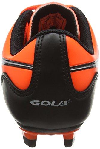 Gola Ion Blade, Chaussures de Football Garçon Orange (Orange/Silver)