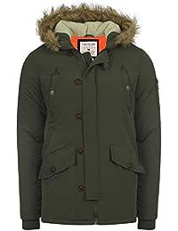 Neuf para caballero Tokyo Lee Noel borde forro–Parka capucha chaqueta Militar S–XL