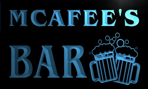 cartel-luminoso-w002789-b-mcafee-name-home-bar-pub-beer-mugs-cheers-neon-light-sign