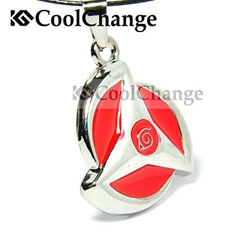 CoolChange Naruto Halskette mit Mangekyou Sharingan -