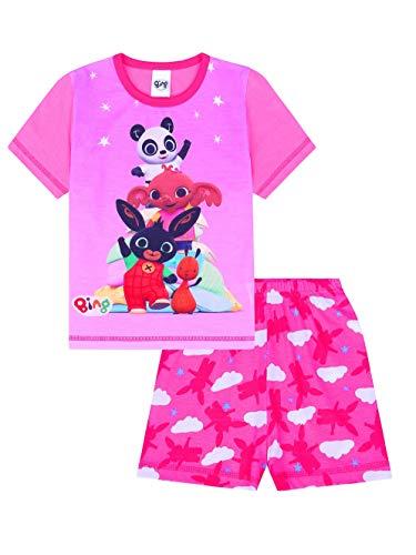 Bunny and Friends Mädchen Schlafanzug, kurz, Rosa Gr. 2-3 Jahre, Rose ()