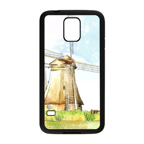 Chinese Windmill Personalized Case for SamSung Galaxy S5 I9600,custom Chinese Windmill Phone Case