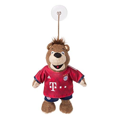 Berni 20cm mit Sauger FC Bayern München, Maskottchen, Kuscheltier, FCB, Saugnapf