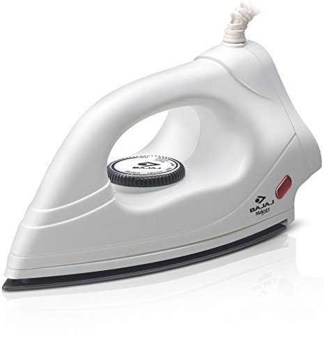 Bajaj DX 4 L/W 1000-Watt Iron (White)