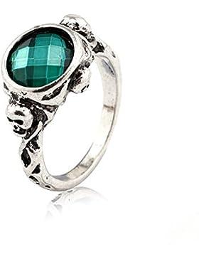 Ring Ringe Fluch Der Karibik Johnny Depp Kapitän Jack Sparrow emerald green super schön