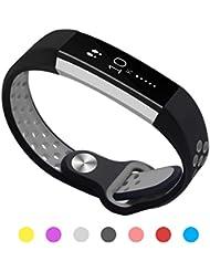 Kutop für Fitbit Alta HR Armband weiches Silikon sports Ersetzerband Silikagel Fitness verstellbares Uhrenarmband für Fitbit Alta HR