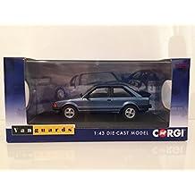 Vanguards 1/43 Scale VA11010 Ford Escort MK3 XR3 - Caspain Blue
