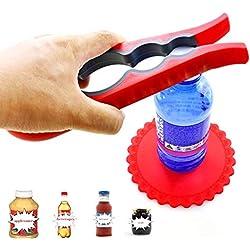Cofre del Tesoro Tapa Abridor–Ideal para apertura de rígida näckigen botellas y vasos–Diseñado Mango seguro y duradero para manos pequeñas, Personas Mayores o artritis Pacientes ⭐ ⭐ ⭐ ⭐ ⭐