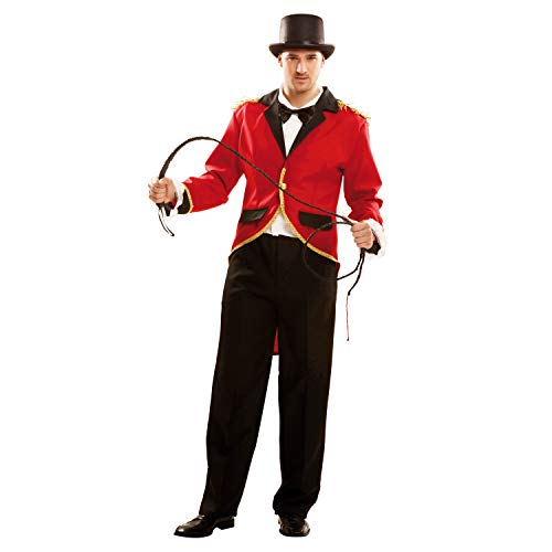 My Other Me Herren Kostüm Zirkus-Presenter, M-L (viving Costumes 202000)