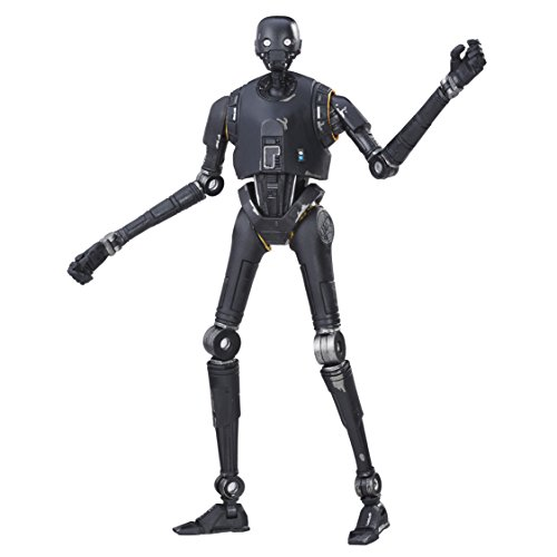 Hasbro Star Wars B9396EL20 Rogue One The Black Series 6 Zoll Figur: K-2SO, Actionfigur