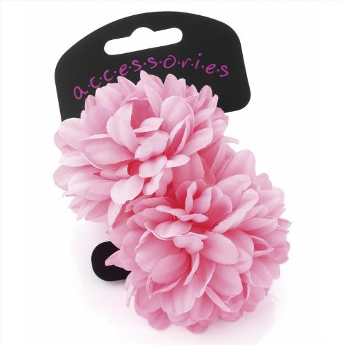pair-of-gorgeous-pink-flower-small-hair-ponios-many-colours-available