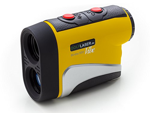 Golf Laser Entfernungsmesser Birdie 500 : Golflaser birdie black