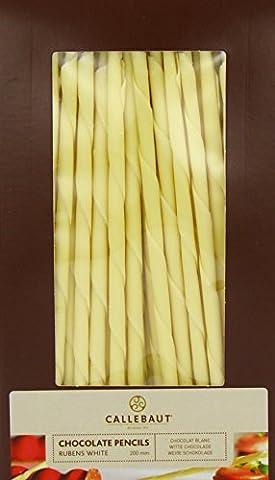Callebaut White Chocolate Rubens Pencils 20 cm 900 g