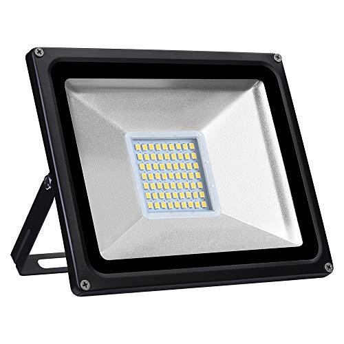 Viugreum Focos LED Exterior, Iluminación interior exterior, Impermeable IP65, Foco proyector LED,...