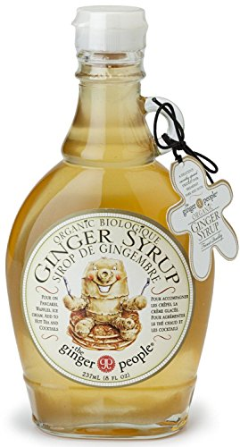 (3 PACK) - The Ginger People - Organic Ginger Syrup | 237ml | 3 PACK BUNDLE