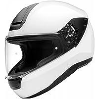 142845079c186 SCHUBERTH Casco de la Motocicleta Blanco del Lustre R2 Tamano Med 57CM