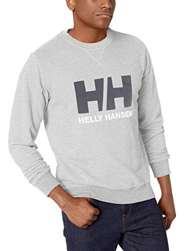 Helly Hansen HH Logo Crew Sudadera, Hombre, (Gris 950), M