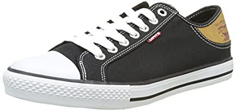 LEVIS FOOTWEAR AND ACCESSORIES Stan Buck, Basses Homme, Noir (Noir), 42 EU