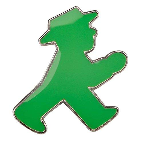 Pin grün Ampelmännchen   INKL DDR Geschenkkarte   Ostalgie   Ideal für jedes DDR Geschenkset   Ostprodukte