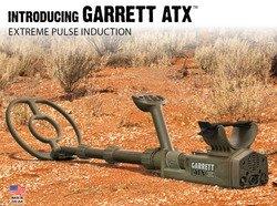 Garrett ATX-Detector de metales para buscar oro, tecnología de inducción pulsada
