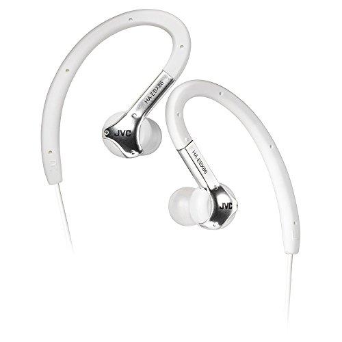 JVC HAEBX86W Sports Ear Clip Headphones - White