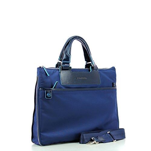 Piquadro Ca4021ce Handtasche, Erwachsene Unisex Red BLU