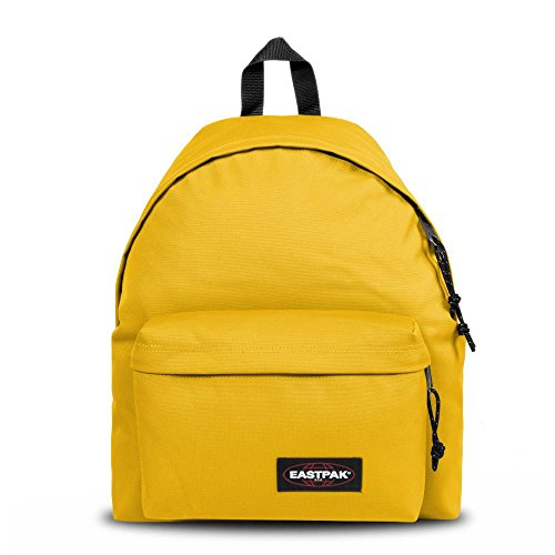 Eastpak Padded Pak'r Mochila Tipo Casual, 40 cm, Amarillo (Flexible Yellow)