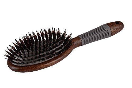 LUQX Spazzola speciale per Hair Extensions-Gomma cuscino con setole di