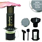 Aerobie Aeropress máquina de café con Ultra Fino Acero Inoxidable Reutilizable ...