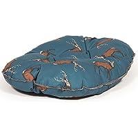 Danish Designs DDN0425 Woodland Stag Deep Filled Colchón Acolchado, Azul, 83,8 cm (33 Pulgadas)