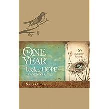 The One Year Book of Hope Devotional Leatherlike