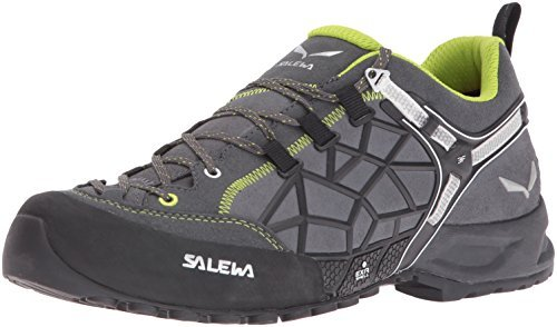 Salewa Wildfire Pro Halbschuh, Chaussures de Trekking et Randonnée Mixte Adulte, Gris, 7.5 UK gris vert