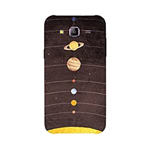 Back Cover for Samsung Galaxy Tizen Z3 ABSTRACT BLUE